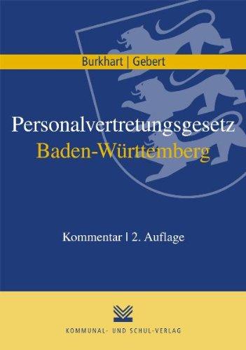 Personalvertretungsgesetz Baden-Württemberg: Kommentar