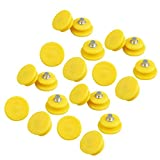 LIOOBO 100Pcs Ice Grips Replacements Ice Snow Cleat Shoe Boot Traction Cleat Rubber Spikes Anti Slip Steel Studs Crampon for Winter Outdoor Hiking Climbing