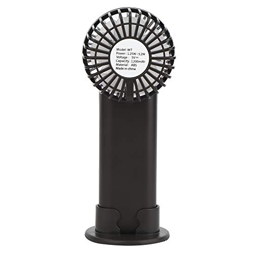 Pelnotac Ventilador de mano portátil multifuncional fuerte viento mini ventilador de mesa USB carga para oficina en el hogar