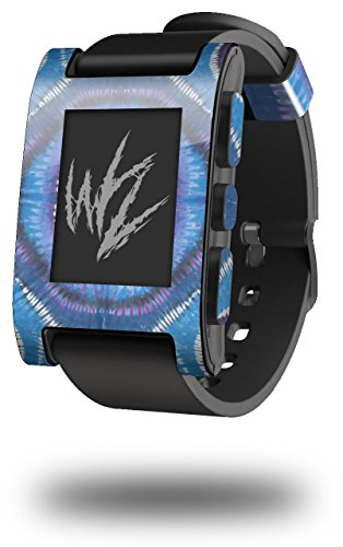 Tie Dye Circles and Squares 100 - Decal Style Skin fits Original Pebble Smart Watch (Watch Sold Separately)