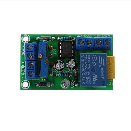 Fivekim - Cargador de batería antitransposición automático de 12 V, módulo de protección