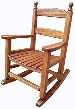 Best rockingrocker - K081NT Durable Natural Child's Wooden Rocking Chair/Porch Rocker - Indoor or Outdo