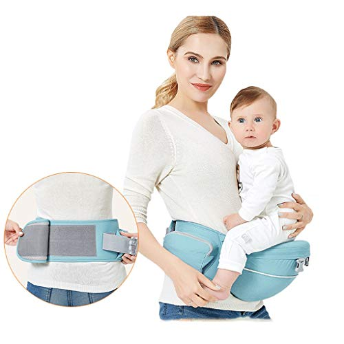 Bandoulière Taille bébé Quatre Saisons Banc d'absorption de Choc Amovible en Coton Multifonction Sac de Rangement Ceinture latérale ( Color : A )