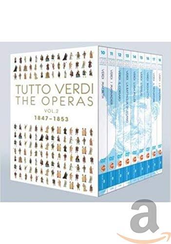 Verdi : Intégrale des opéras, vol. 2. Bartoletti, Luisotti, Montanaro, Renzetti, Zanetti. [Blu-Ray]