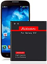 Galaxy S4 Battery Acevan 2900mAh Li-ion Battery Replacement for Samsung Galaxy S4, AT&T I337, Verizon I545, Sprint L720, T- Mobile M919, R970, I9500, I9505, Galaxy S4 LTE I9506 [3 Year Warranty]
