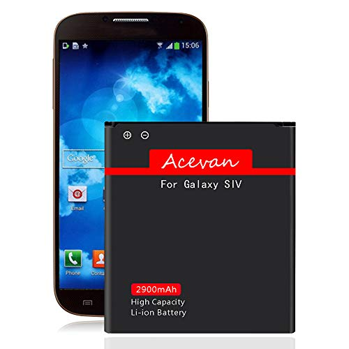 Galaxy S4 Battery Acevan 2900mAh Li-ion Battery Replacement for...