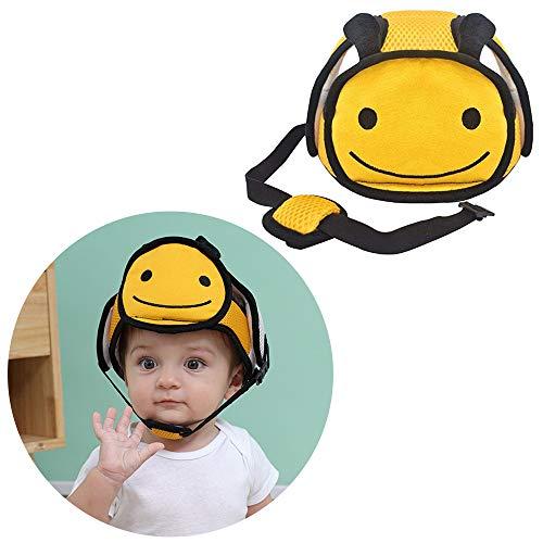 G-Tree Bambino Caschetto di Protezione, Berretto Imbracatura di Protezione per il Bambino, Cappello di Sicurezza del Casco per i Più Piccoli Imparano Camminare, Ape