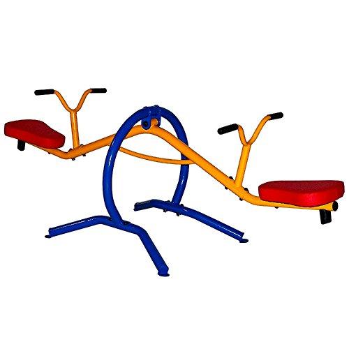 Home Seesaw Playground Set Equipment Teeter-Totter Set Steel Plastic Sturdy Construction - Skroutz Deals