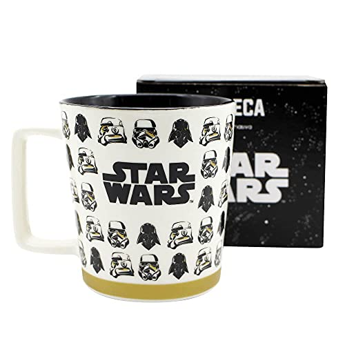 Caneca Star Wars Stormtroopers Porcelana 400ml Zona Criativa