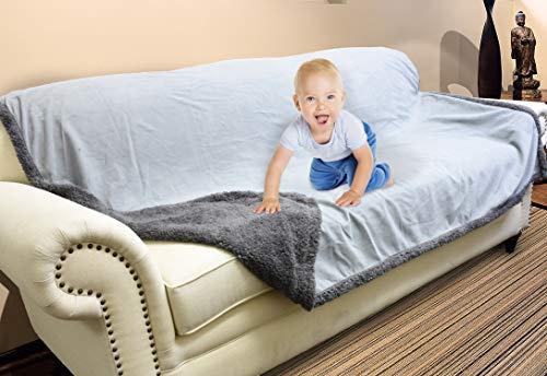 Waterproof Blanket, Liquid Pee Proof Blanket for...
