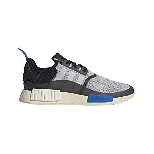 Zapatilla Hombre Adidas NMD R1 Color Dash Grey/Core Black/Glow Blue Talla 44 2/3