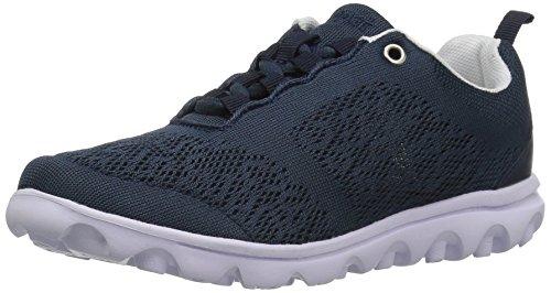 Propet Women's TravelActiv Walking Shoe, Navy, 9 2X-Wide