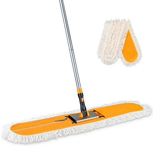 Yocada Commercial Industrial Cotton Mop With Mop Pads