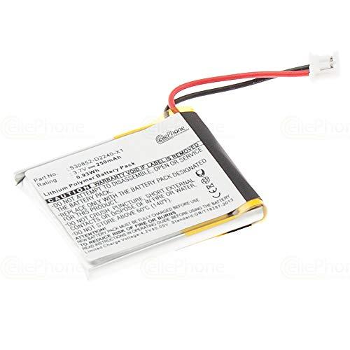 cellePhone batería Li-Polymer para Siemens Gigaset L410 (reemplazado S30852-D2240-X1)