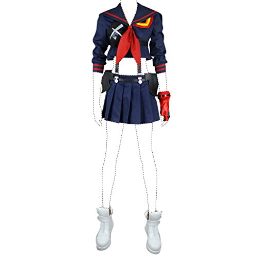 FarEastDayDream Holysteed Kill La Kill Cosplay Costume Ryuko Matoi Costume Set Large