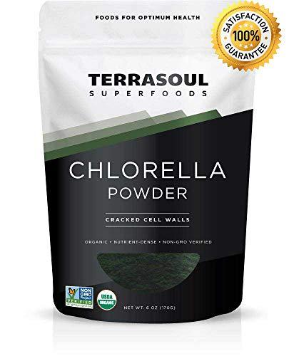Polvo de Clorela de Terrasoul Superfoods | Suplemento | Polvo | 170 g