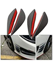 Passionate Styling Air Knife Carbon Auto Front Bumper Protector Lip Splitter for Nissan Car, 4 Pieces