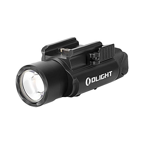 Olight® PL-PRO Valkyrie 1500 Lumens USB Rechargeable Weaponlight with XHP 35 HI NW LED, Compact Gunlight Powered by Built in Battery with MCC Included, Max. Throw 280 Meters Waterproof IPX6 with RPL-7 Remote Switch