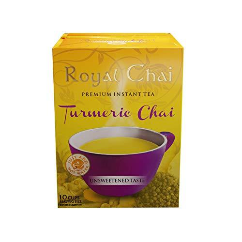 Royal Chai Turmeric Chai Unsweetened Single Serve 10 sachets, 140 g, 5060131760940