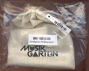 Instrumentenpaket mit grünem Tuch für Babys (Rassel-1 Paar Klanghölzer-Nylontuch) Percussion Instrumente