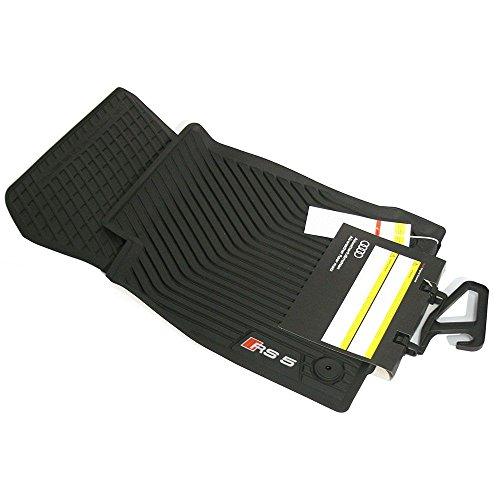 Audi 8W8061221041 Premium Tappetini in gomma RS5 (B9) 2 X tappetini anteriori in gomma (solo Sportback)