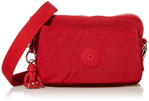 Kipling womens Abanu Multi Covnertible Crossbody Bag, Red Rouge, Small US