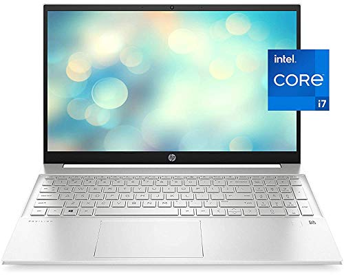 "2021 Newest HP Pavilion 15 Laptop, 15.6"" HD IPS Micro-Edge Display, Intel Core i7-1165G7, Intel Iris Xe Graphics, 32GB DDR4 RAM, 1TB PCIe SSD, Backlit Keyboard, Fingerprint Reader, Win 10 Home"