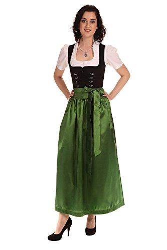 Königssee Tracht Damen Schürze D719001 1504 steirisch grün