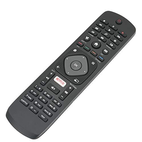 ALLIMITY 996596003606 Reemplazo de Control Remoto para Philips 4K UHD Smart TV 43PUS6101 43PUS6162 43PUS6201 43PUS6262 43PUT6101 49PFS5301 49PUH6101 49PUS6101 49PUT6101 50PUS6162 50PUS6262 50PUS6272