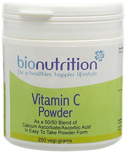Bio Nutrition Vitamin C Powder (as Calcium Ascorbate/Ascorbic Acid Blend) - Antioxidant Vitamin C - 250g Powder