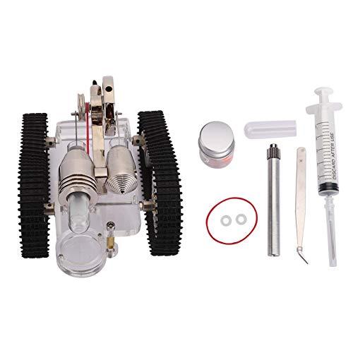 SALUTUYA Antioxidant Stirling Engine Kit Onderwijs Aids Uitstekend voor Onderwijs Demonstratie Collectie Tank Motor