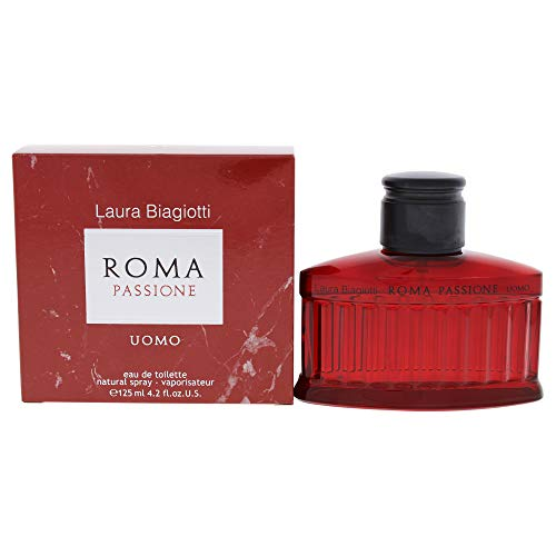 Laura Biagiotti Roma Passione Uomo Man, Eau de Toilette Spray, 1er Pack (1 x 125 ml)