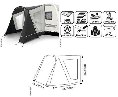 Reimo Tent Technology Sonnensegel Vorzelt Playa 260 für Wohnwagen (9329906881)