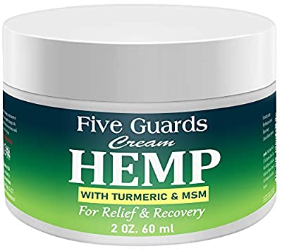 Hemp Extract Pain Relief Cream 56000 Mg- Hemp Cream with EMU oil, Turmeric, Frankincense MSM and Hemp, Relieves inflammation, Muscle, Joint, Back, Knee, Nerves & Arthritis Pain - Made in USA from Absolute consumer solutions Inc.