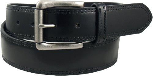 Dickies Men's Casual Leather Belt, Black Modern, 38 (Waist 36)