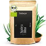 Spirulina Pulver bio 500g | 100% reine Spirulina-Alge | Im Standbeutel laborgeprüftes und 100% naturreines Spirulina-Powder
