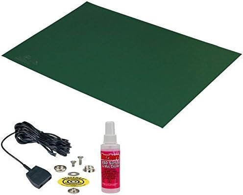 DESCO 66177 Vinyl Statfree B2 Anti-Static Mat Kit, 30