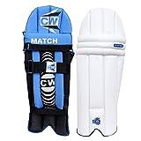 CW MATCH - Protectores de piernas de bateo para críquet y bateo de grillo para piernas de bateo para jóvenes y niños pequeños, almohadillas de bateo para grupos de todas las edades (5 a 7 años)