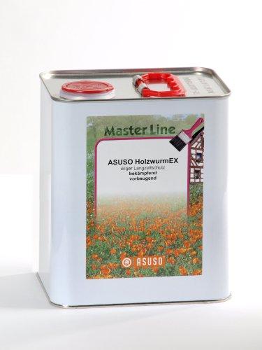 Asuso ML Holzwurm EX Langzeitschutz farblos 3,0 Liter Gebinde