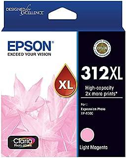 Epson 312XL - High Capacity Claria Photo HD - Light Magenta Ink Cartridge, Large