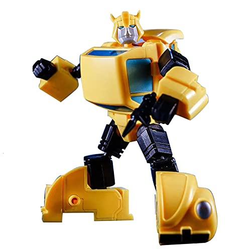 XILALA Trǎnsformérs Robot Toy, 10cm MP10V MP-10V Deformation Car Robot KBB MCS-02NA Transformation Action Figure G1 Toy Big Bee Movie Model ABS,Children