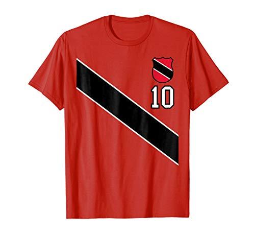Retro Trinidad and Tobago Soccer T-Shirt Football Jersey 10