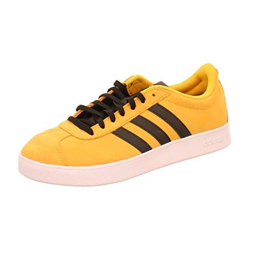 Zapatillas Hombre Adidas VL Court 2.0 Mostaza 40 2/3 Amarillo