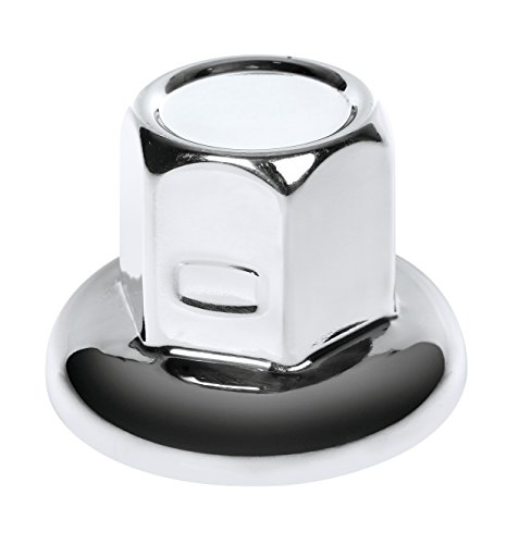 Lampa Radmutterkappen aus glänzendem Edelstahl 32 mm 40er Set