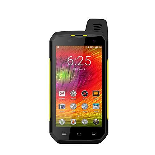 No application UNIWA Teléfono Inteligente Resistente NFC IP68 Impermeable Bluetooth 4.2 Doble Cámara Led Linterna Bar-Style 64GB ROM USB Tipo-c Durable Smartphone al aire libre...