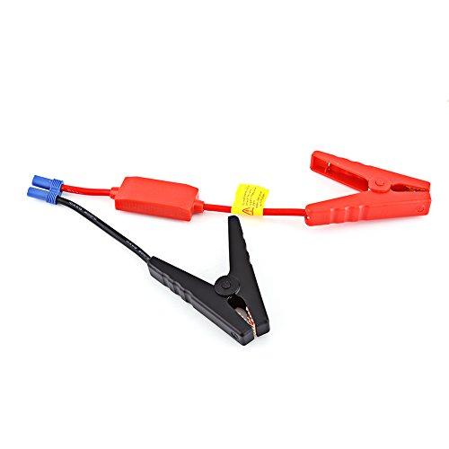 Keenso Câbles de démarrage de rechange pour batterie de voiture - Clips de batterie d'urgence