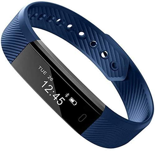 JIAJBG Fitness Tracker Smart Pulsera Inforión Pulsar Pulsar Recordatorio Deportes Pulsera Deporte Fitness Tracker Moda