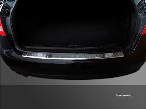 Avisa Protection de seuil arrière inox compatible avec Seat Ibiza 6J 5-portes Facelift 2012-2017 'Ribs'