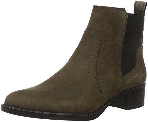 Marc O'Polo Damen 61012785102203 Mid Heel Chelsea Boots, Grau (dark grey 930), 39 EU
