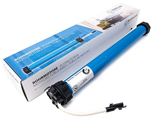 RolloTube S-line DuoFern Medium, 10 Nm, SW60 - Funk Rollladenmotor, Rohrmotor - selbstlernend, mit Reversierung, Fliegengitterschutz, exakte Positionsanfahrt (SLDM 10/16PZ, 23601075)